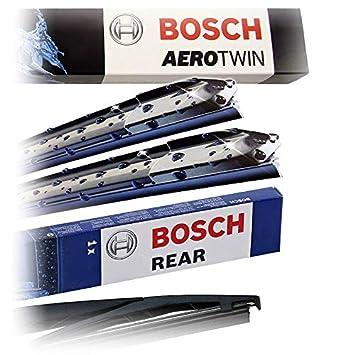 Juego de limpiaparabrisas Bosch Aerotwin Multi-Clip AM468S + ...