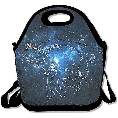 Jubenlcai Taurus Lunch Bag Adjustable Strap