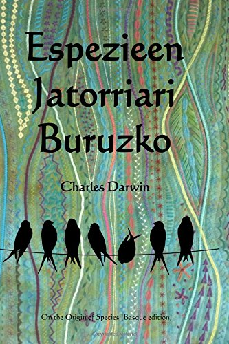 Descargar Libro Espezieen Jatorriari Buruzko: On The Origin Of Species Charles Darwin