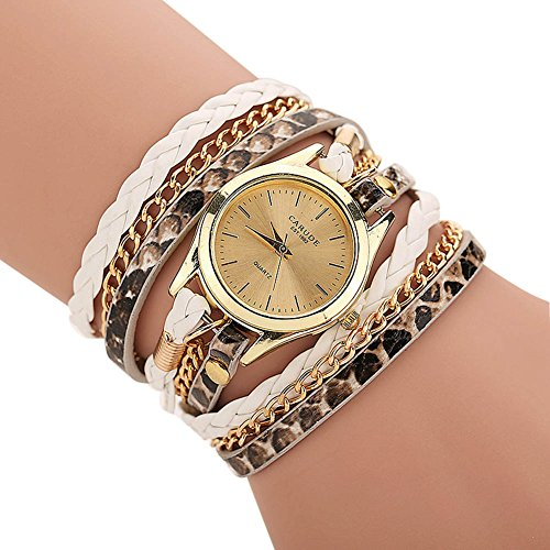 Tenflyer-Nueva-reloj-de-seoras-de-la-PU-Ronda-reloj-pulsera-serpiente-reloj-de-las-mujeres