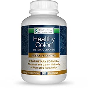 Clinical Strength Colon Cleansing for Detox & Constipation Relief. All Natural Formula Helps Eliminate Toxins Safely. Gentle Laxative, No Chemicals. Quick & Easy Solution.