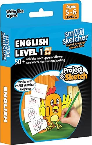 smART sketcher - SD Pack - English Level 1 (Age 5-6)
