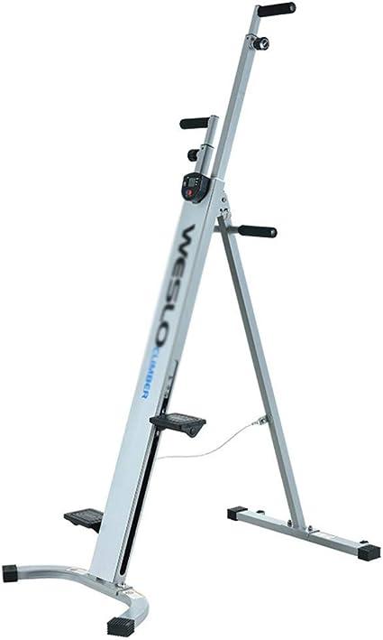 CWYPC Máquina De Escalada Vertical, Climber Stepper Maquina Subir Escaleras Fitness Máquina De Step Fitness, Movimientos para Escalada, con Pantalla ...