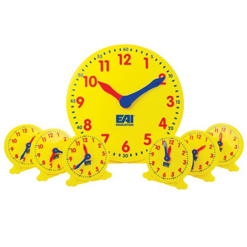 EAI Classroom Clock Set