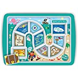 Fred & Friends DINNER WINNER Kids' Dinner Tray, Pirate