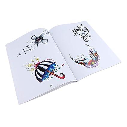 108 Páginas Tattoo Book Arte Cuerpo Libros Tatuajes Arte Diseño ...