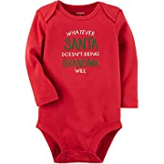 Carter's Baby Santa And Grandma Collectible Bodysuit 3 Months