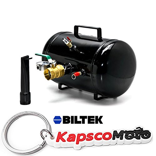 Biltek New Tire Bead Seater Air Blaster Inflator 5 Gallon Car ATV Truck Tractor Seating + KapscoMoto Keychain