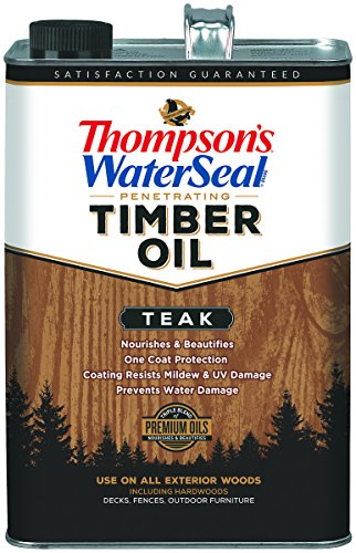 Thompsons Waterseal Penetrating Timber Oil Teak 1 Gallon