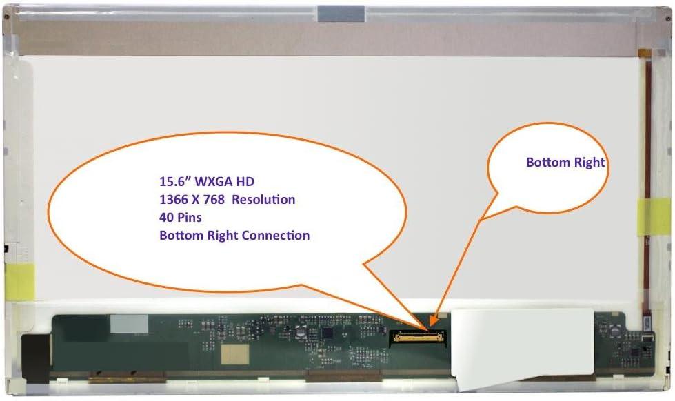 HP 620 Laptop Screen 15.6 LED Bottom Left Wxga Hd 1366X768