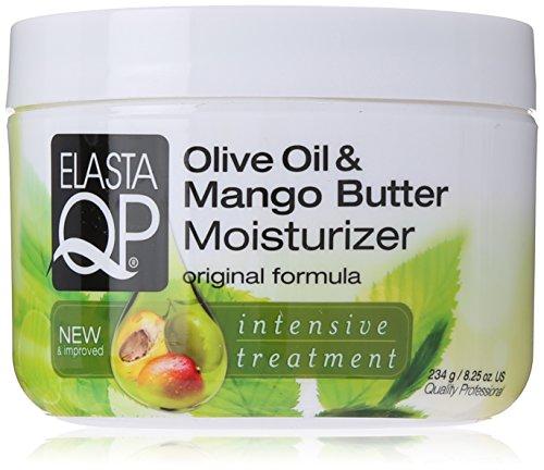 Elasta QP Moisturizer, Olive Oil/Mango Butter, 8.25 Ounce ()