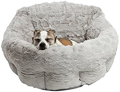 Best Friends by Sheri DPD-LUX-GRY Deep Dish Cuddler in Lux, Gray, One Size