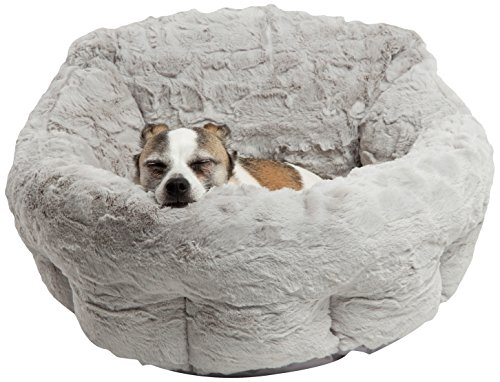 51ITYUU4RFL - Best Friends by Sheri DPD-LUX-GRY Deep Dish Cuddler in Lux, Gray, One Size