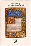 The Letters of Marsilio Ficino, Marsilio Ficino, 0805260005