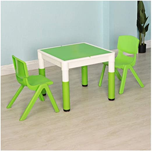 Pupitre de niño Niño mesas sillas de jardín de Infancia echó a un ...