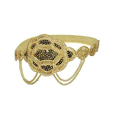 Kayamiya Women's 1920s Handmade Gatsby Headband Art Deco Inspired Flapper Headpiece