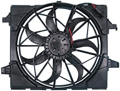 Dual Radiator and Condenser Fan Assembly Cooling Direct For//Fit CH3115170 11-19 Jeep Grand Cherokee 3.6//5.7L Standard Duty Cooling