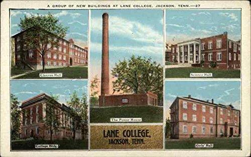 lane college jackson tennessee original vintage postcard at