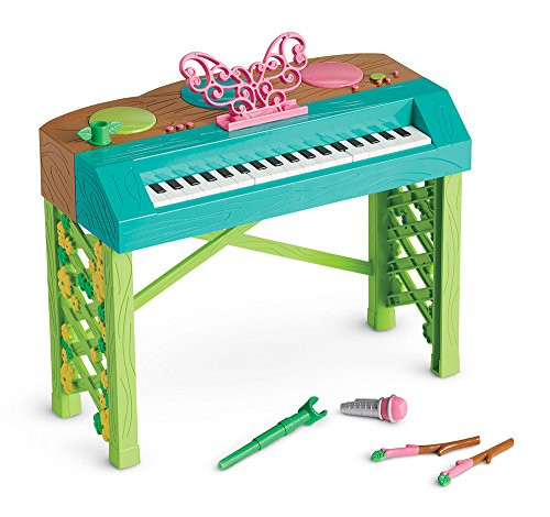 American Girl Welliewishers Butterfly Beats Keyboard Doll Accessories (Doll Piano)