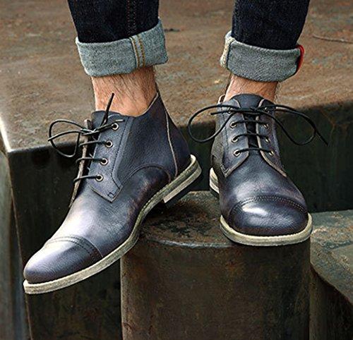 7 Boots Leather Insun Chukka Men's Black C0wxqxfU