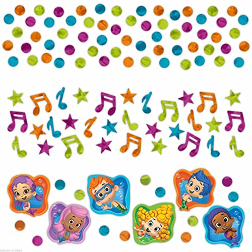 Bubble Guppies Confetti Value Pack (3 Types)
