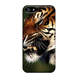 CC WalkingDead Tiger Durable Iphone 5/5s Tpu Flexible Soft Case