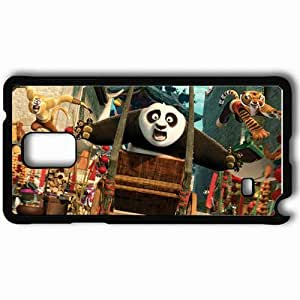 Personalized Samsung Note 4 Cell phone Case/Cover Skin 2011 kung fu panda 2 movies kung fu panda Black