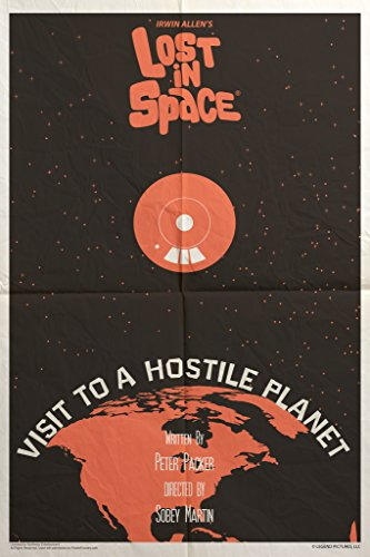 Lost in Space Visit to A Hostile Planet by Juan Ortiz Episode 61 of 83 Art Print Poster 12x18 inch