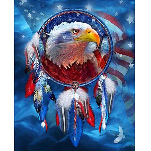 Eagle 7 Embroidery - 7