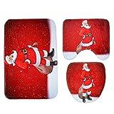 Awayyang Christmas Toilet Floo