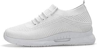 JYJM Homme Femme Chaussures de Sport Respirantes Plein Air Sneaker Running Shoes pour Trail Entraînement Course Gym Fitness Jogging Basket Athlétique Compétition