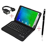 Tab E 8.0 Keyboard case, KuGi ® Samsung Galaxy Tab E 8.0 case - High quality Ultra-thin ...
