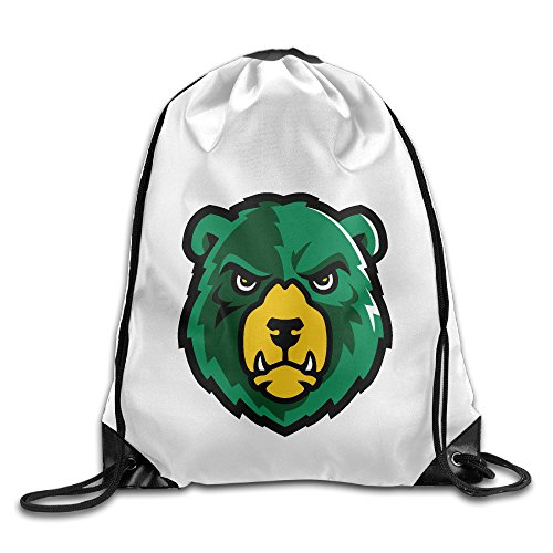 Bekey Baylor University Bears Head Gym Drawstring Backpack Bags For Men & Women For Home Travel Storage Use Gym Traveling Shopping Sport Yoga - Oklahoma In Centers City Shopping