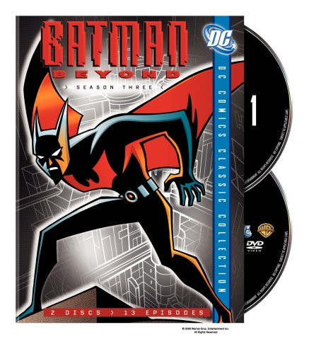 DVD : Batman Beyond: Season Three (Digipack Packaging, Dubbed, Standard Screen, 2 Disc)