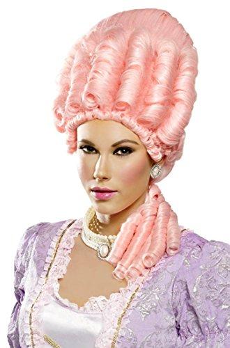 Icy Pink Miss Versailles Costume Wig - Adult Std.