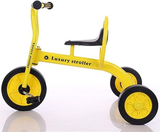 Wanlianer-Sports Niños Niñas Triciclo Niños Niños Triciclos Bicicleta Trike 3 Ruedas Niños Caminando Caminar para niños de 3-12 años Triciclos para niños (Color : Amarillo, tamaño : Un tamaño): Amazon.es: Hogar