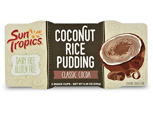 Gluten Free Rice Pudding (SunTropics Coconut Rice Pudding Classic Cocoa 4.23oz, 12 cups)