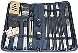Culina 20513 Fine Cutlery 14 Pcs Bbq Set Oxford Storage