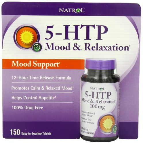 Natrol 5-HTP Mood Enhancer, 100mg, 150 comprimés