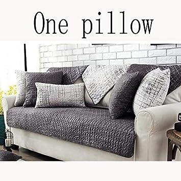Amazon De Wjx Likerr Wasserdichte Sofabezug Baumwolle Nordic Sofa