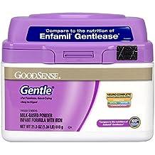 GoodSense Gentle Milk-Based Powder Infant Formula with Iron, 21.5 Ounce