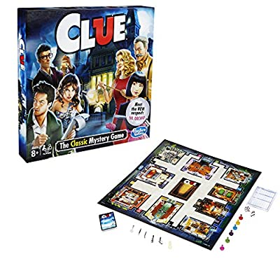 Clue game -The Classic Mystery Game by Hasbro