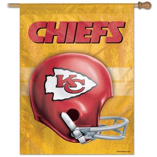 NFL Kansas City Chiefs 72642091垂直フラグ、27