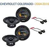 Fits Chevy Colorado 2004-2012 Factory Speaker Upgrade Harmony (2) R65 Package New