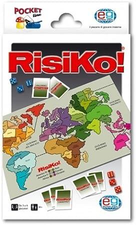 Editrice Giochi 2151 - Risk de Bolsillo (en Italiano) [Importado ...
