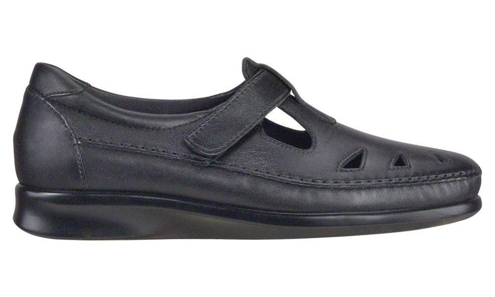 SAS Women's Roamer Slip-on B01MDPIC55 8.5 XW US|Black