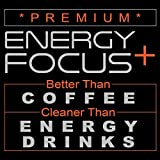 200mg Caffeine Pills - MCT Oil from 100% Coconuts + 100mg L-Theanine, Advanced Energy, Clean Focus and Perfect Clarity + All Natural Smooth Extended Release