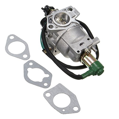 - CALAP-STORE - Motorcycle 27mm Carburetor with Solenoid and Gaskets for Honda EB6500X EB7000I EB6500SX EG5000CL EM6500SX Generator Parts