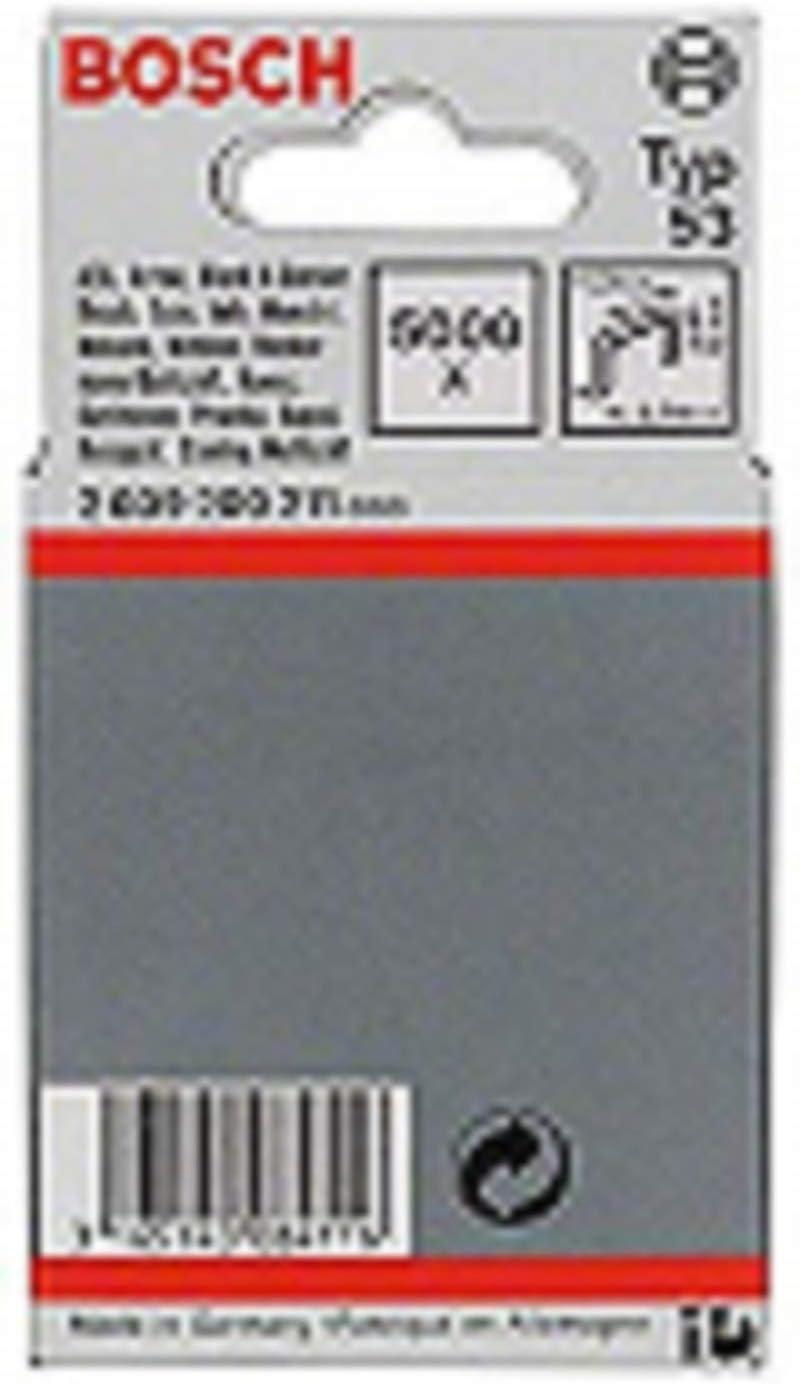 Argento Bosch Home and Garden 2609255821 Graffette Fine a Filo 10 mm