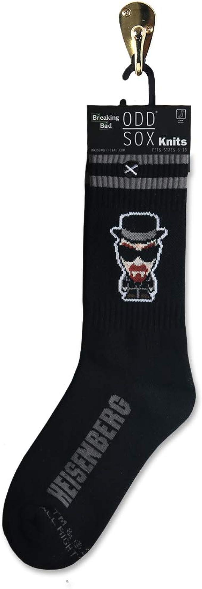 ODD SOX calcetines unisex Breaking Bad Who is Heisenberg